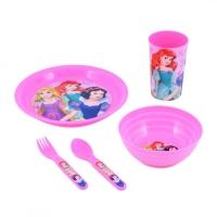 Set dejun 5 piese Princess - Prinsete