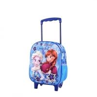 Troler pentru gradinita 3D Frozen - Ana si Elsa
