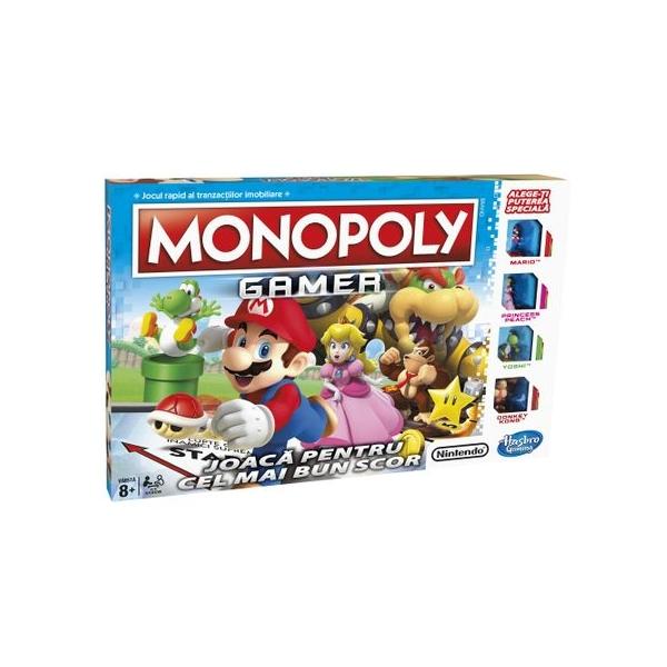 Joc de societate Hasbro Monopoly Gamer in Limba Romana