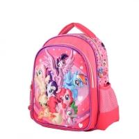 Ghiozdan gradinita 12'' 3D cu 2 compartimente My Little Pony