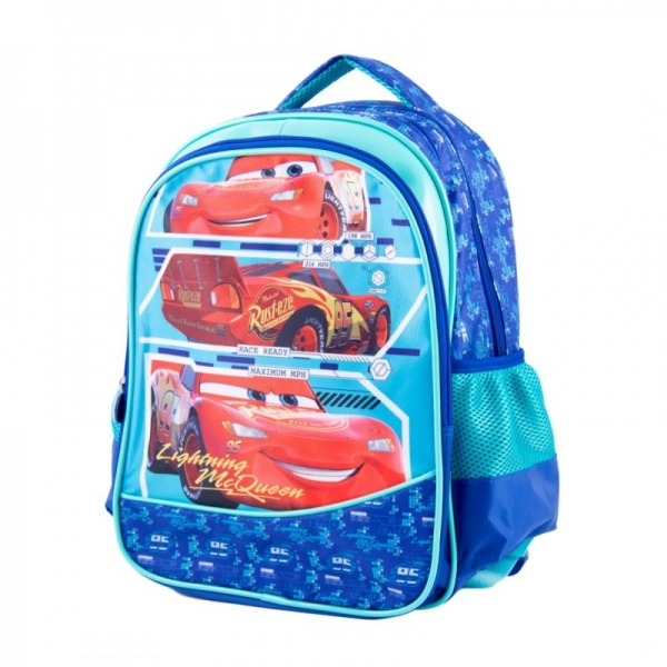 Ghiozdan pentru scoala 16'' 3 compartimente Cars