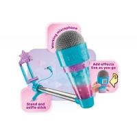 Microfon cu selfie stick Karaoke - Tube Superstar