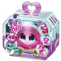 Jucarie de plus Fur Balls, Roz - Furbal fur ball furball