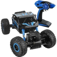 Masina cu telecomanda 4x4 Rock Crawler Through off road 1:18 - ALBASTRA