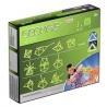 Set de constructie magnetic Geomag Kids Glow, 30 piese