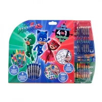 Mega set de colorat 5 in 1 Pj Masks