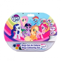 Mega set de colorat 5 in 1 My Little Pony