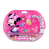 Mega set de colorat 5 in 1 Minnie Mouse
