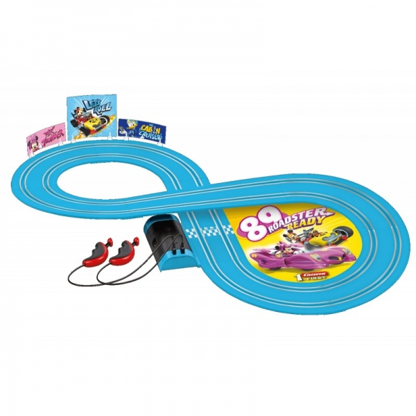Pista de curse Minnie Mouse 2,4 m