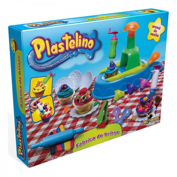 Plastelino - Fabrica de Briose