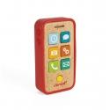 Telefon mobil Janod din lemn cu sunete