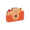 Aparat foto din lemn cu sunete Janod