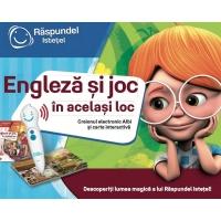 Joc interactiv Raspundel Istetel - Engleza si joc, in acelasi joc