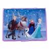 Pachet Set pictura 68 piese Frozen + Set troler cu coloriaj Frozen