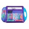 Pachet Set de colorat portabil Eroi in pijama + Set troler cu coloriaj Eroi in pijama