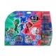 Pachet Eroi in Pijama - Masuta cu accesorii pentru colorat + Mega set de colorat 5 in 1
