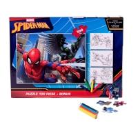 Puzzle 100 piese + Bonus Spiderman