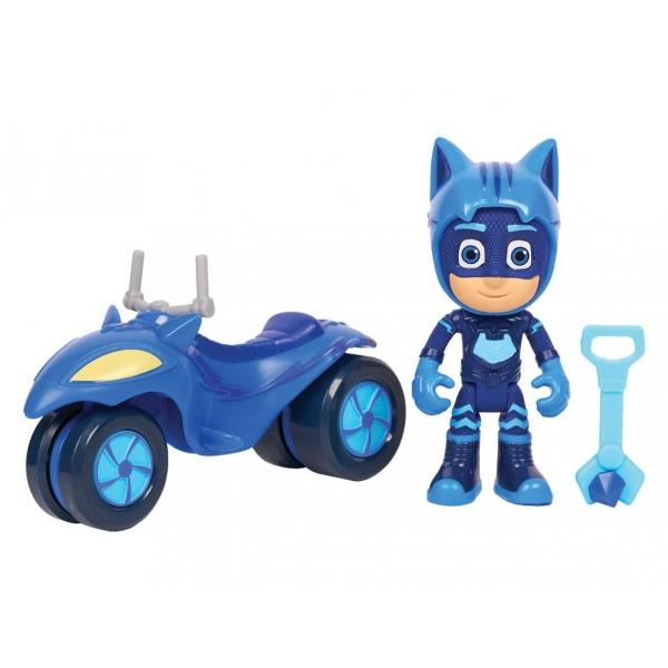 Figurina Pisi-scuterul si Pisoi - Super aventura pe luna