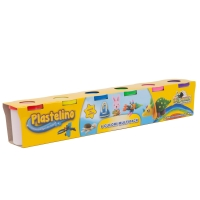 Plastelino - Multipack (6 culori)