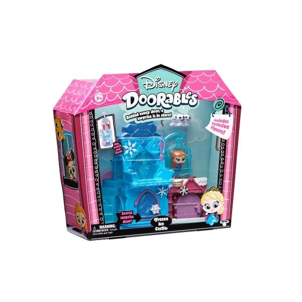 Set tematic de joaca Disney Doorables Frozen Ice Castle