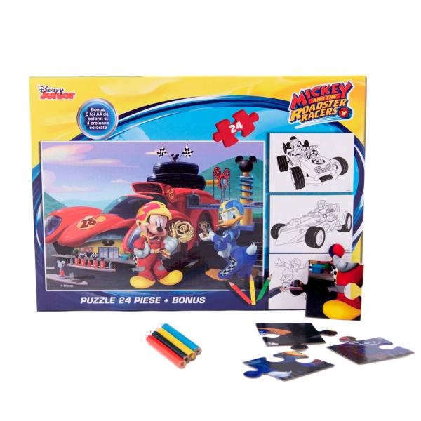 Puzzle 24 piese + Bonus Mickey