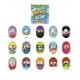 Set 15 figurine Mighty Beanz, Mega Pack, S1