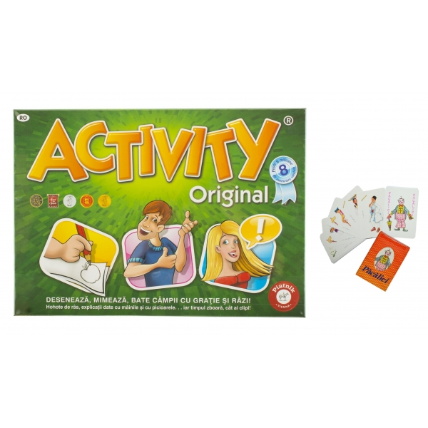 Joc de societate Activity Original 2 + Pacalici