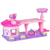 Set complet Shopkins Cuties Car Drive-in Diner