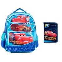 Set  Ghiozdan pentru scoala  + Penar - Cars