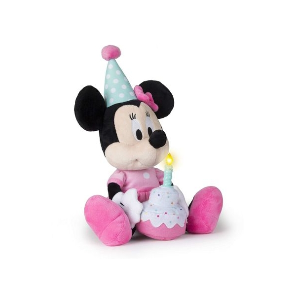 Jucarie de plus Jakks Pacific Minnie Mouse La Multi Ani