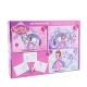 Set Papusa Hairdorables cu accesorii + Puzzle 3 in 1 + Bonus Sofia