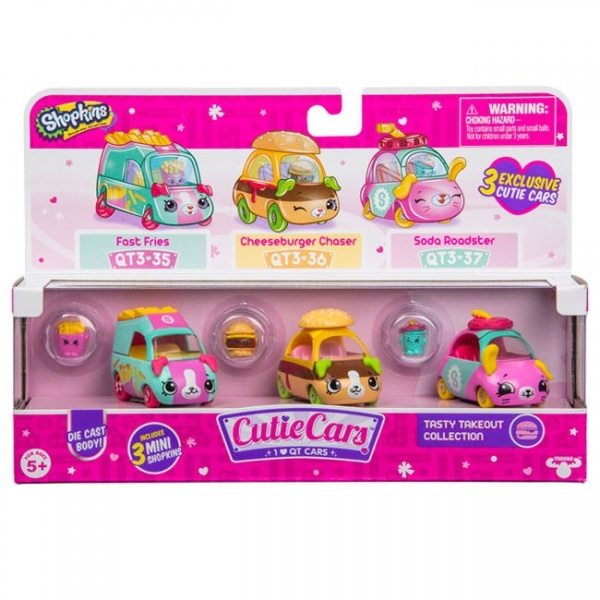 Cutie Cars S3 Pachet 3 Masinute Tasty Takeout