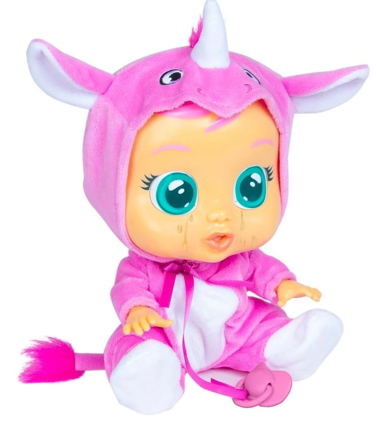 Papusa Cry Babies - Bebe plangacios Sasha rinocerul